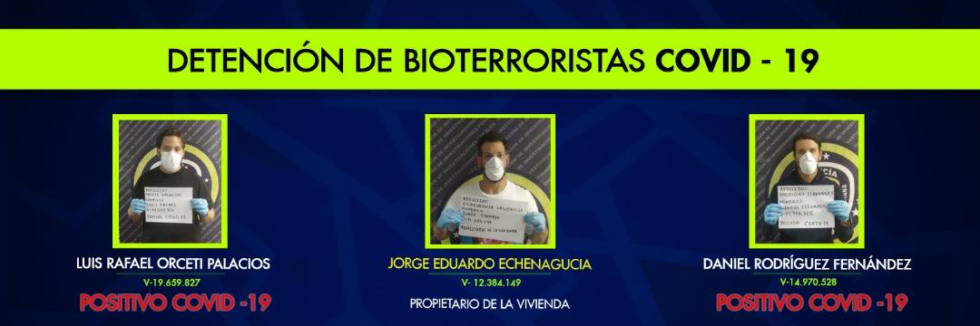 Detenidos 2 bioterroristas por propagar el Covid19 en fiesta clandestina