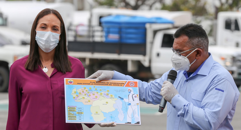 Abordados más de 5 mil espacios con el Plan Nacional de Desinfección contra el Covid-19