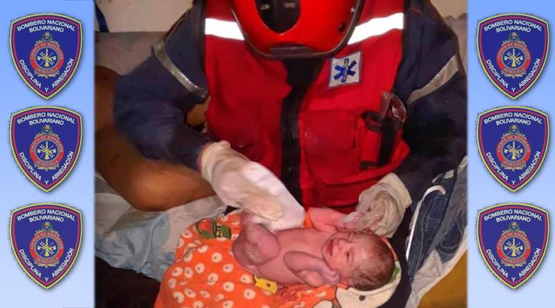 Bomberos atendieron labor de parto en Caracas