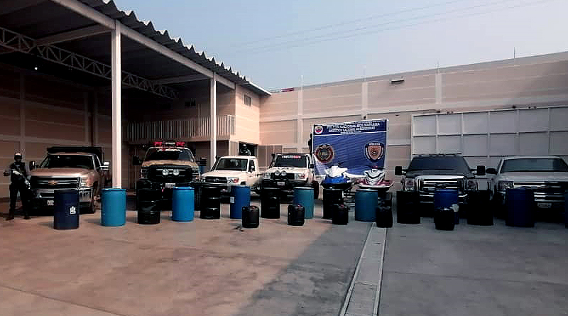 Capturan a cuatro sujetos por contrabando de combustible en Falcón