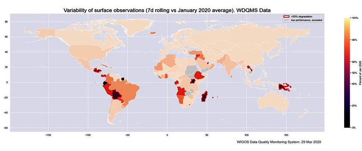Organización Meteorológica Mundial reconoce labor que ejecuta el Inameh