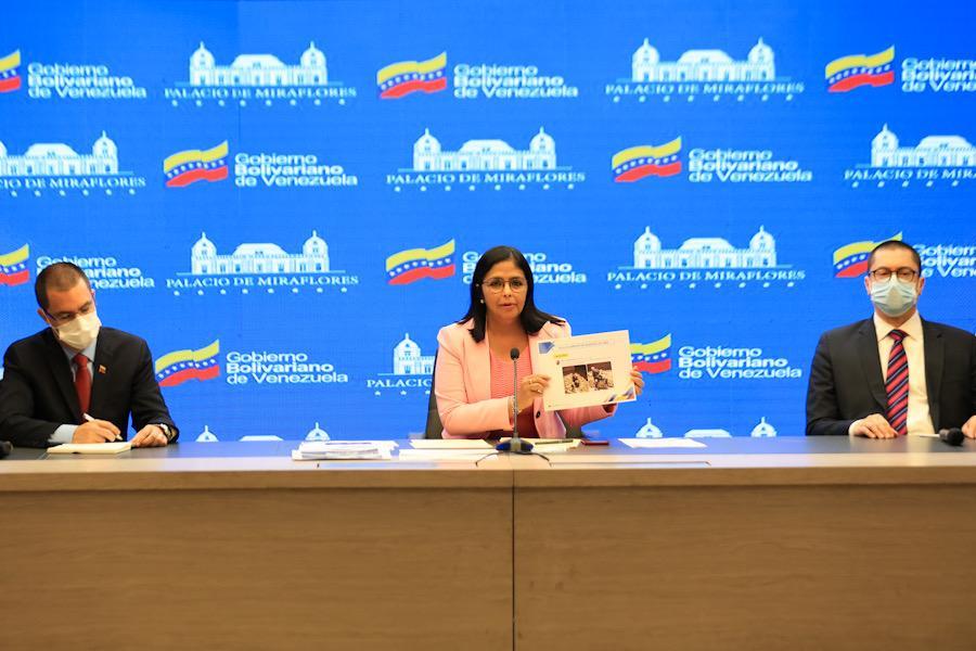 Vicepresidenta Rodríguez denuncia entramado de la oposición para robarse oro venezolano