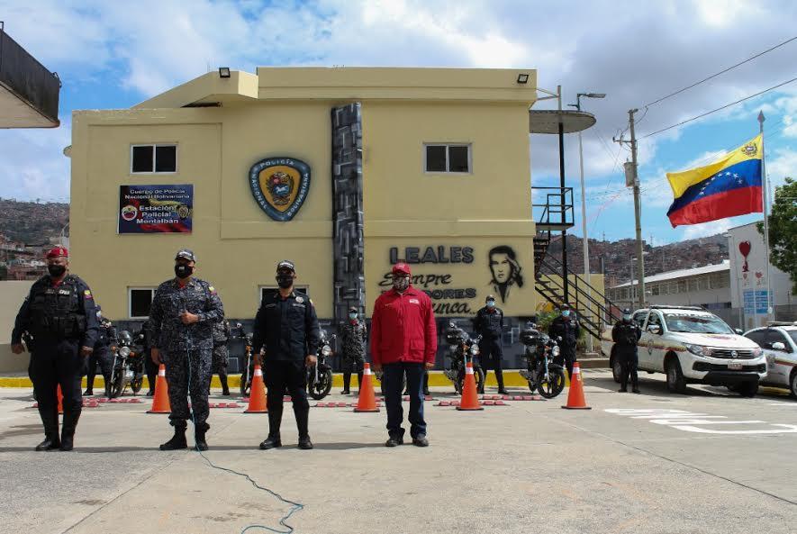 Inauguran Estación Policial Montalbán en parroquia La Vega