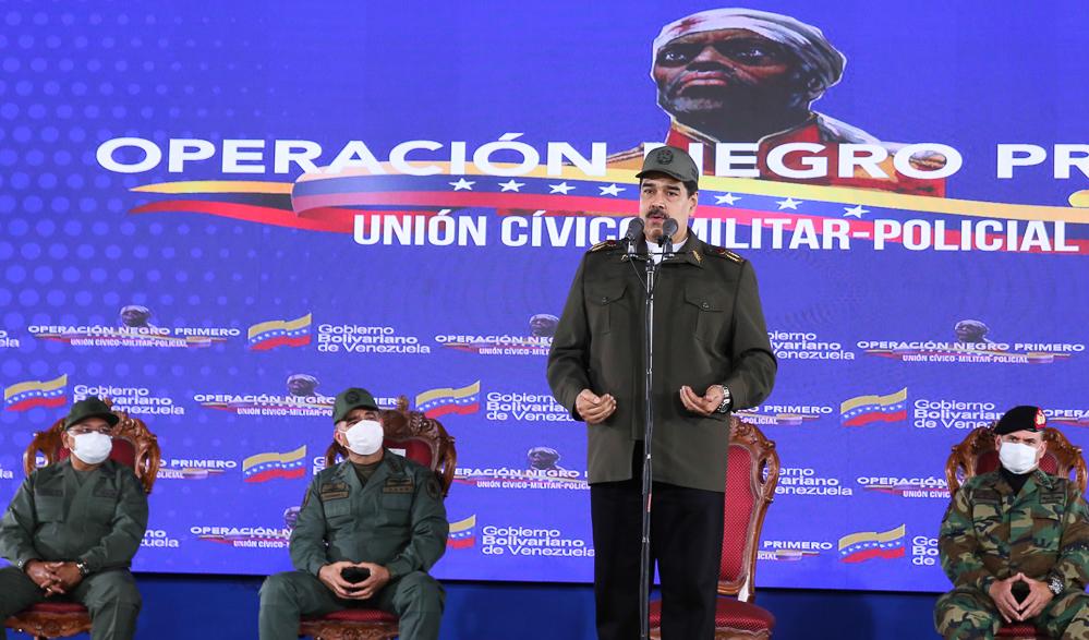 Maduro denunció reagrupación de mercenarios en territorio colombiano para agredir a Venezuela