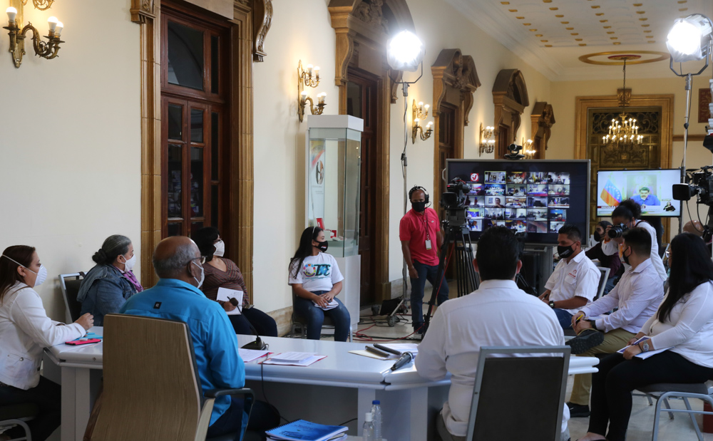 Presidente Maduro reitera su llamado a la conciencia del pueblo ante el Covid-19