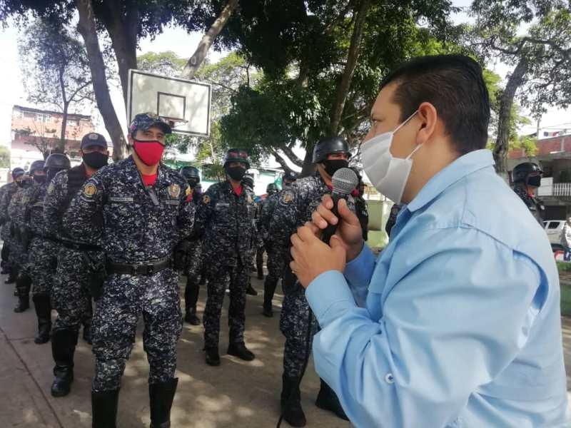 Autoridades realizan despliegue de perifoneo preventivo contra el Covid-19 en La Pastora