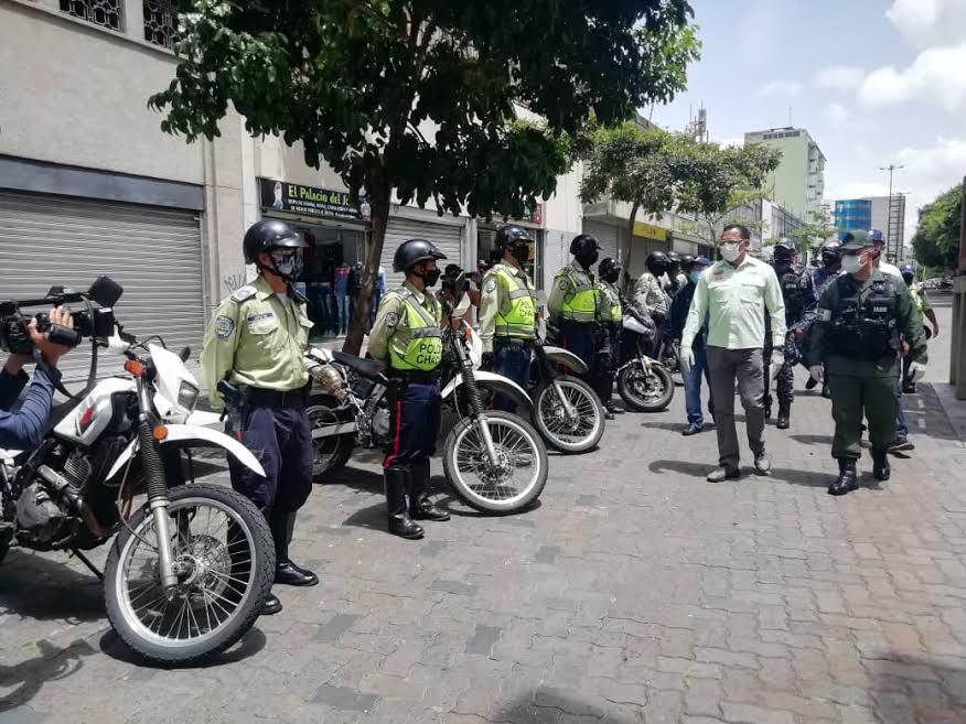 Organismos de seguridad del Estado supervisan medidas de bioseguridad en jornada especial del CNE