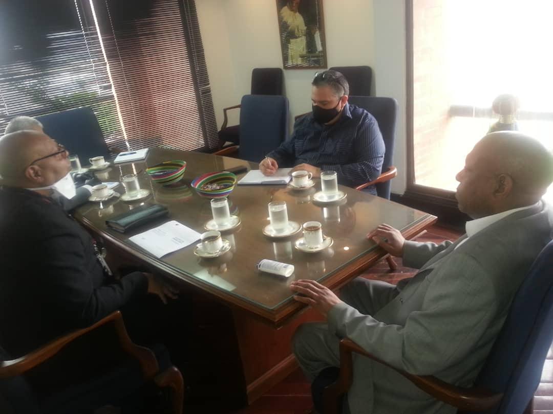Venezuela y Sudáfrica reafirman compromiso ante desafíos por pandemia Covid-19