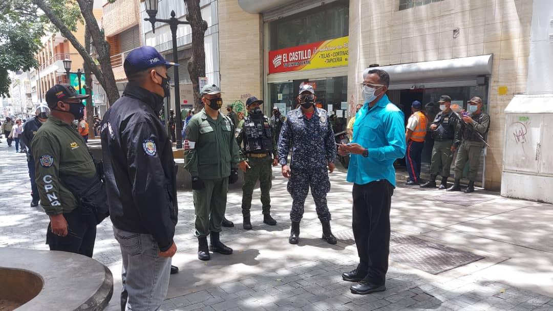 Intensifican medidas de bioseguridad en el Casco Central de Caracas