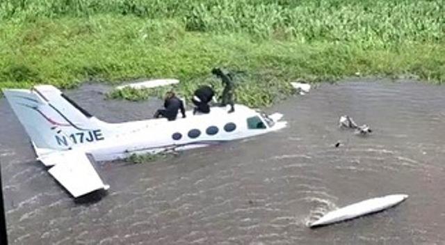 Inutilizada aeronave del narcotráfico con siglas norteamericana en el Zulia