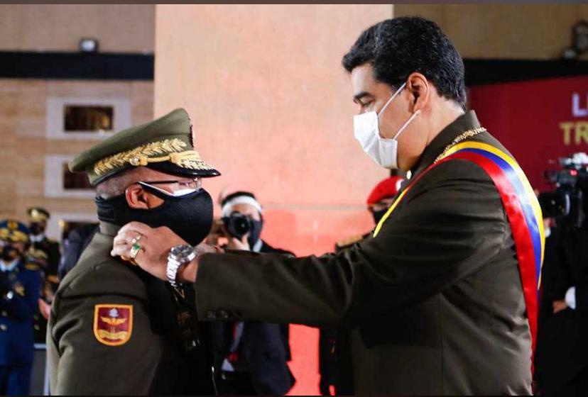 Néstor Luis Reverol Torres, primer General en Jefe de la GNB