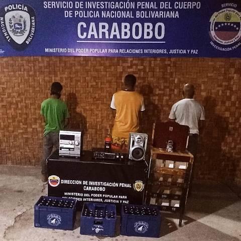 Detenidas 599 personas por diversos delitos en el país