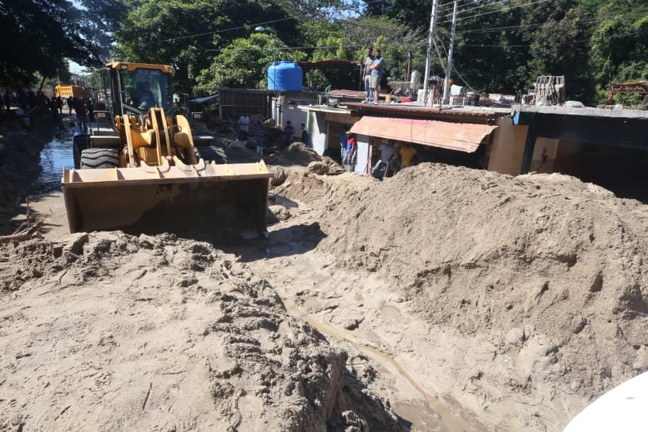 Gobierno nacional restablece servicios públicos en El Limón