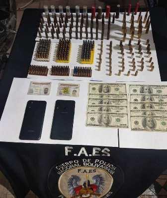 Incautadas más de 400 municiones de diversos calibres en el estado Carabobo