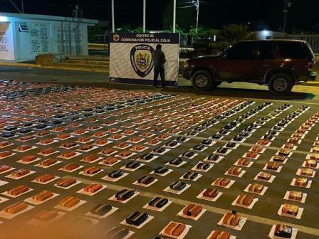 PNB incauta 915 panelas de marihuana en la carretera Lara – Zulia