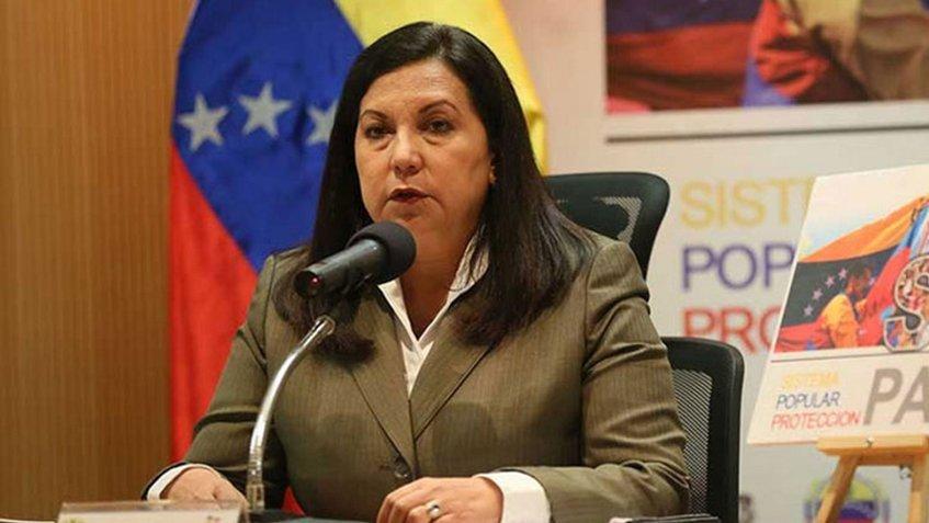 Designan a Carmen Meléndez ministra del Poder Popular para Relaciones Interiores, Justicia y Paz