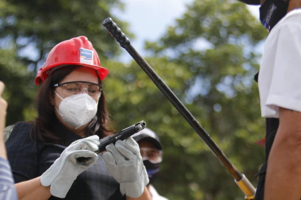 Inutilizadas más de 18 mil 500 armas de fuego por la paz y seguridad del pueblo de Venezuela