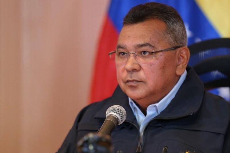 General en Jefe Néstor Reverol asume el Ministerio de Energía Eléctrica