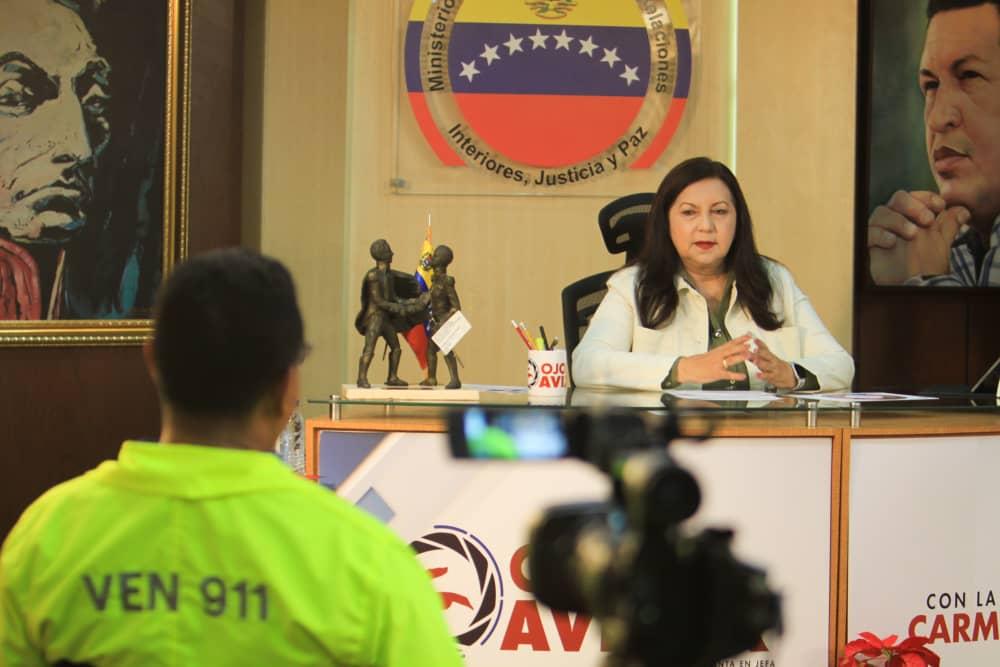 Ministra Meléndez: Estamos fortaleciendo los cuerpos de seguridad ciudadana