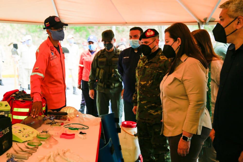 Activado Comando Nacional Unificado contra Incendios Forestales