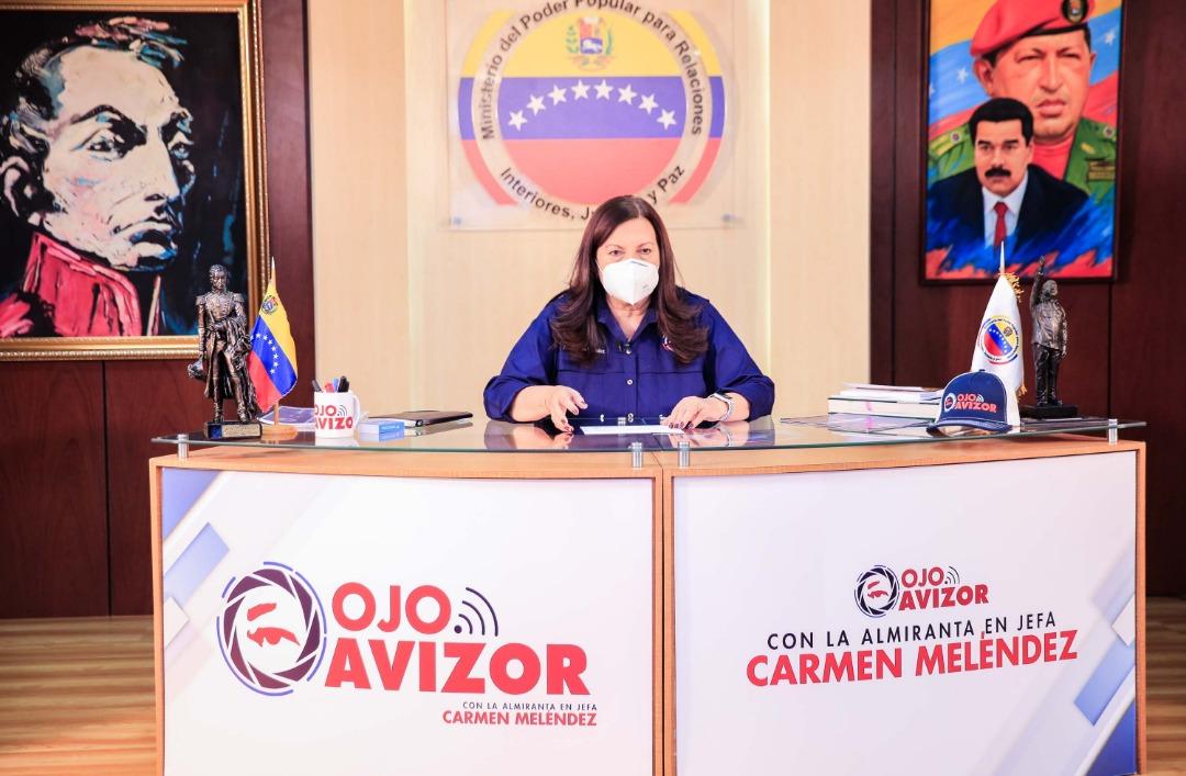 Venezuela registró una reducción de cerca del 40% en los índices delictivos en 2020