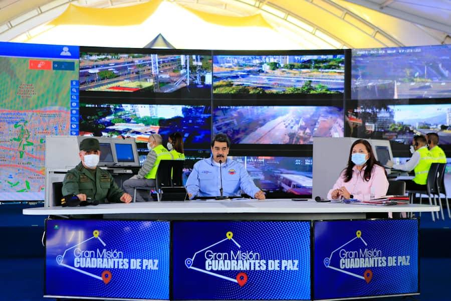Venezuela llega a 2 mil 384 Cuadrante de Paz activos