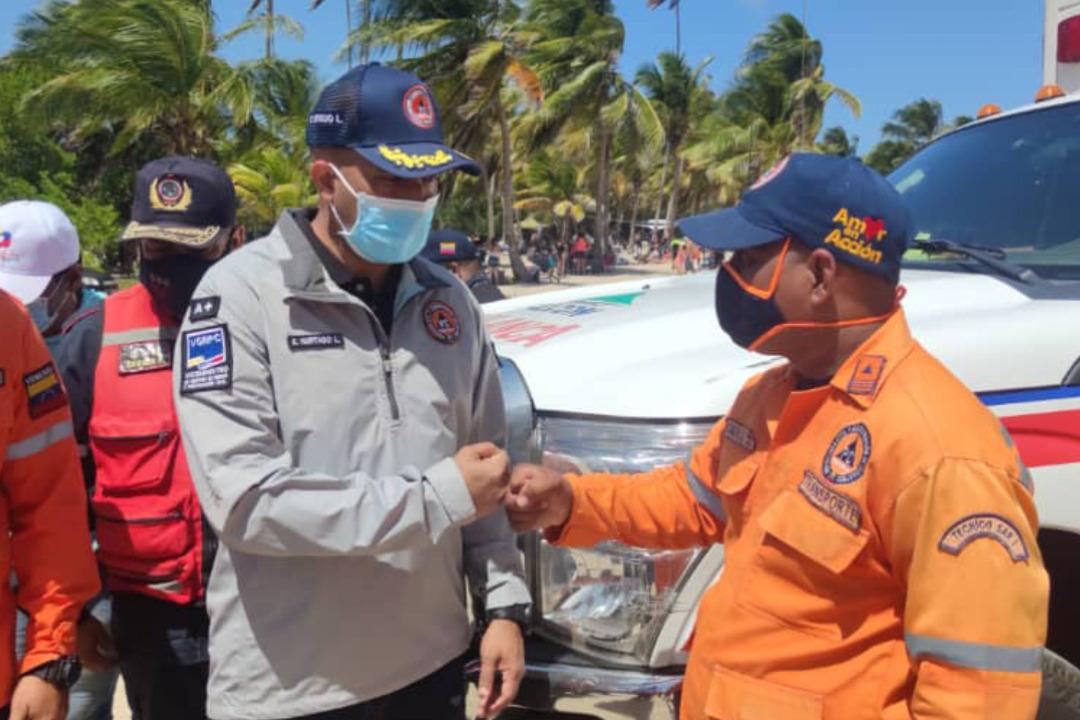 Supervisan Parque Nacional Morrocoy en el marco de Carnavales Felices y Bioseguros 2021