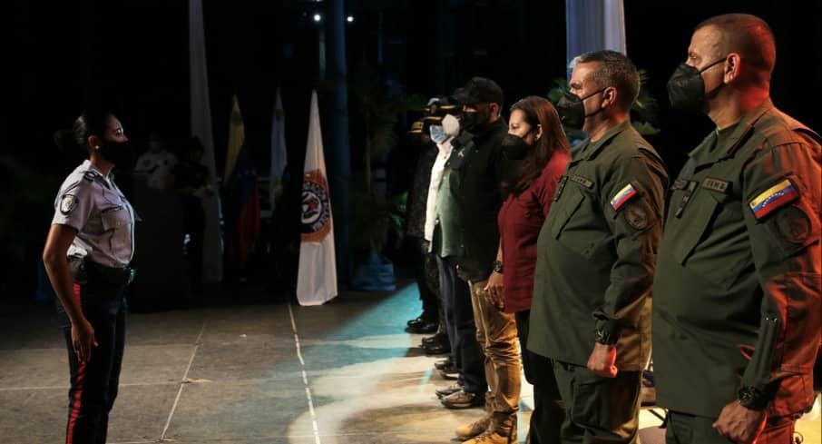 Con nuevos funcionarios se fortalece la policía del estado Zulia
