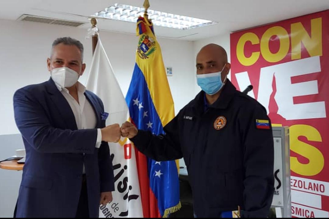 Viceministerio de Gestión de Riesgo supervisó instalaciones de Funvisis
