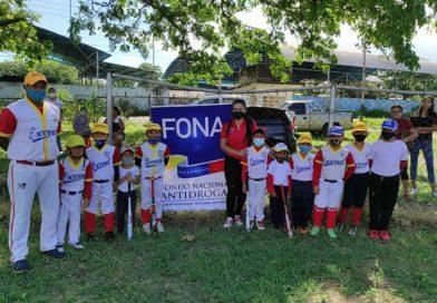 Fona fortalece prevención a través del deporte en los estados Barinas y Anzoátegui