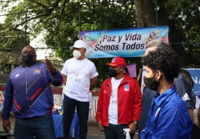 SNA y Fona inician plan para el embellecimiento de espacios públicos en Caracas