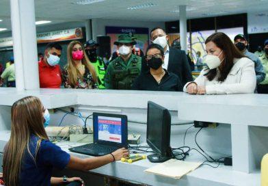 Inauguran obras en el Terminal de Pasajeros La Bandera, un regalo para los caraqueños