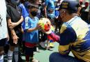 Sunad entrega cancha rehabilitada para los niños y niñas de Catia
