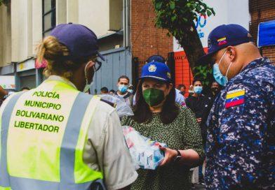 Entregan dotación para patrullaje enCuadrantes de Paz de la parroquia El Recreo