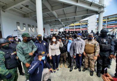 Vicepresidenta Meléndez destacó labor policial contra bandas delincuenciales