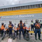 Activado Cuadrante de Paz Vial adyacente al Terminal de Pasajeros La Bandera