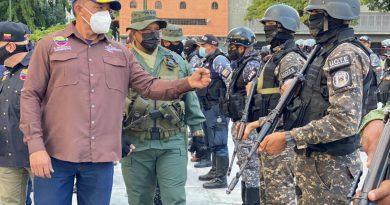 Despliegue integral de seguridad garantiza la protección y tranquilidad de los ciudadanos en Caracas