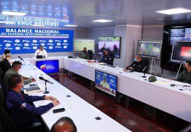 Despliegue  operacional de apoyo logístico y social se mantiene en entidades afectadas por lluvias