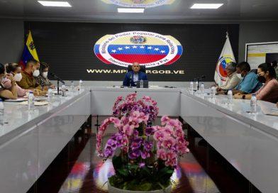 AJ Ceballos preside la primera reunión de la Vicepresidencia Sectorial para la Seguridad Ciudadana