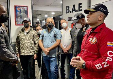 Vicepresidente Sectorial Ceballos Ichaso: Avanzamos en la lucha contra el delito para garantizar la protección y seguridad del pueblo