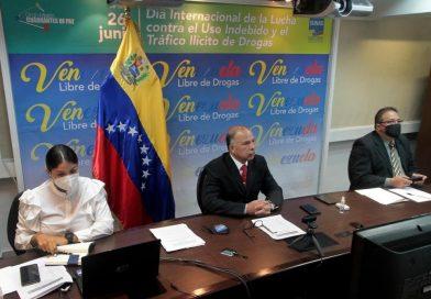 Venezuela insta mayor cooperación antidrogas durante reunión de Honlea