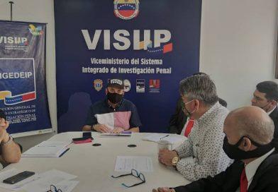 Visiip iniciará capacitación masiva de funcionarios para el fortalecimiento de la investigación penal en el país